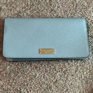 Henri Bendel Baby Blue Wallet